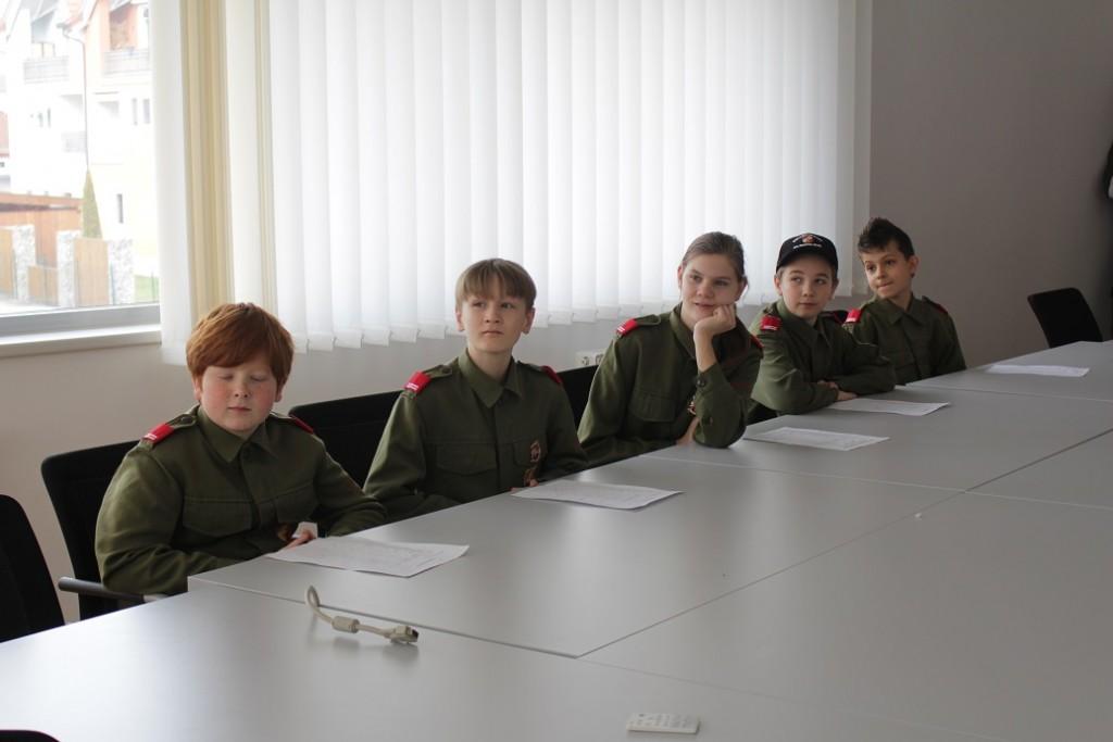 Wissenstest der Jugendgruppe