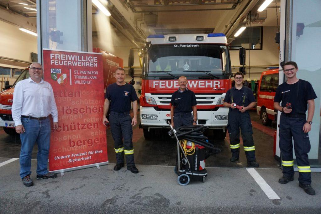 You are currently viewing Aktion 1220 – Feuerwehr St. Pantaleon kauft nach Starkregen Pumpsauger