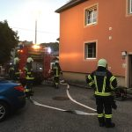 Brand Wohnhaus